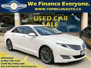 2014 Lincoln MKZ 3.7 AWD, Navigation, Sunroof & more