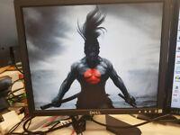 "2x DELL 17"" monitors 1280x1024"
