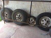 Landrover Range Rover MK1 wheels