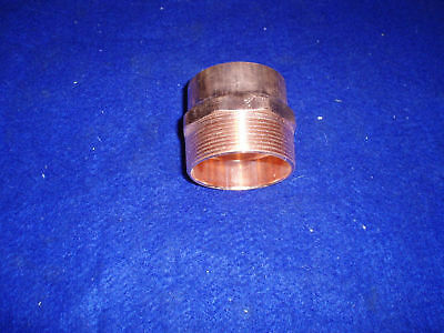 2 Copper Male Adapter C X M Adapter Copper Sweat X Mip Adapter
