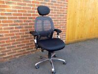 Ergo-Tek Mesh Office Chair - Black