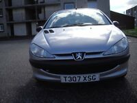 peugeot 206 LX 1.4 LOW MILEAGE 1 PREVIOUS KEEPER