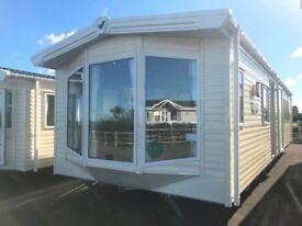 Brand new Willerby Sierra static caravan, on Merryfield Leisure Coastfields including 2018 fees