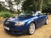 Audi TT Quattro 1.8 T 225 convertible 2004 full servis history hpi Clear Px welcome