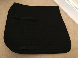 Black Dresssge Saddle Cloth