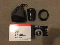 CANON EF 17-40mm f/4L IS USM Wide Angle Zoom Lens LENS