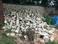 Building stone from 19th Century cottage