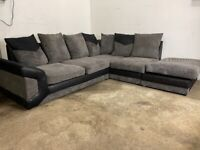 Grey Harvey's corner sofa, couch(SOLD PENDING DELIVERY)