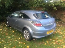 2005 Vauxhall Astra 1.4 SXI Sport, Taxed & Tested.