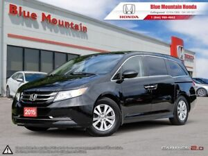 2015 Honda Odyssey EX-L w/ DVD! LEATHER! SUNROOF!