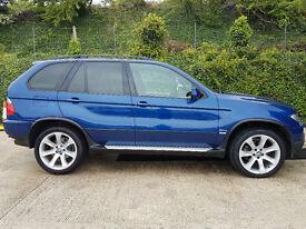 BMW X5 Le mans blue sport premium edition, VERY LOW MILES