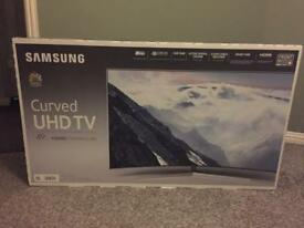 "samsung curve 49"" uhd smart 4k ultra tv"