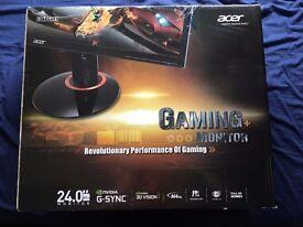 "Acer Predator XB240HA 24"" 1920x1080 TN G-Sync 144Hz Gaming Widescreen LED Monitor"