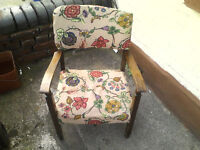 2 Antique small Chairs