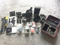 GoPro HERO 4 SILVER + many accessories - Used twice