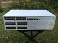 3x 3Com Network Switch