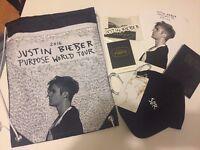 Justin Bieber - PURPOSE WORLD TOUR VIP EXCLUSIVE MERCHANDISE