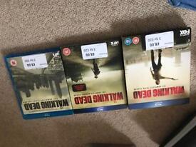 Walking dead Series 1 to 3 Blu-ray