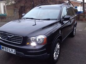 Black Volvo xc90 diesel 2.4 automatic seven seats, good condition,
