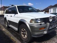 Mitsubishi Challenger 2.8 Diesel Auto - (Shogun Sport) sold subject to collection