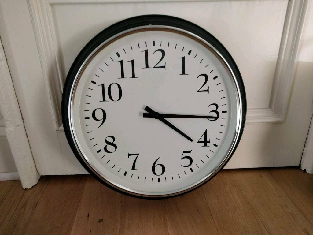 Ikea Bravur Wall Clock In West End Glasgow Gumtree