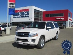 2017 Ford Expedition Max Limited 4x4 - 16,217 KMs, 7 Passenger