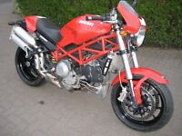 Ducati Monster S4R-07 998cc 130BHP Version ,Standard and Unmolested, Excellent Condition.