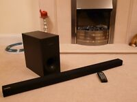 SAMSUNG HW-H355 Soundbar Bluetooth with Wireless TV Connection (inc remote and wall bracket)