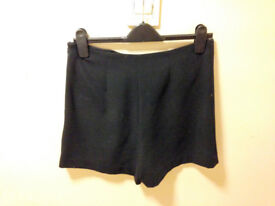 **BRAND NEW WITH TAGS** Womens size 10 black shorts from Next
