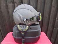 Casco Helmet and googles
