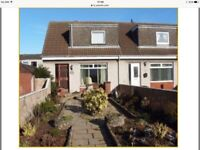 UNFURNISHED 2 double bedroomed house for rent. Fully refurbished. Available 01/07/18.