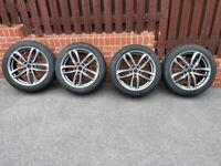 Winter wheels set 235/45/18. Audi, VW, Seat, Skoda.