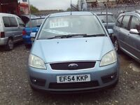FORD FOCUS C MAX 2.0 TDCI 6 SPEED FSH FULL LEATHER