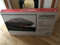 "4 weeks old boxed hitachi 50"" full hd smart led tv. £300 NO OFFERS. CAN DELIVER"