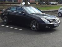 MERCEDES CLS 320 CDi 2007(07 REG)**SAT NAV*DVD PLAYER*LOW MILES*LONG MOT*PX WELCOME*DELIVERY