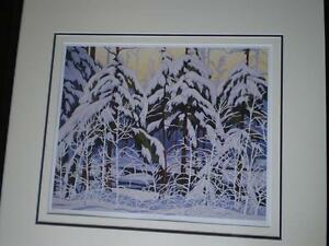 "A.J.Casson-""Snow Laden Spruce"" Limited Edition Print Kitchener / Waterloo Kitchener Area image 7"