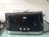 Breville Black 4 Slice Toaster