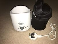 Tommee tippee electric bottle warmer and insulation bag