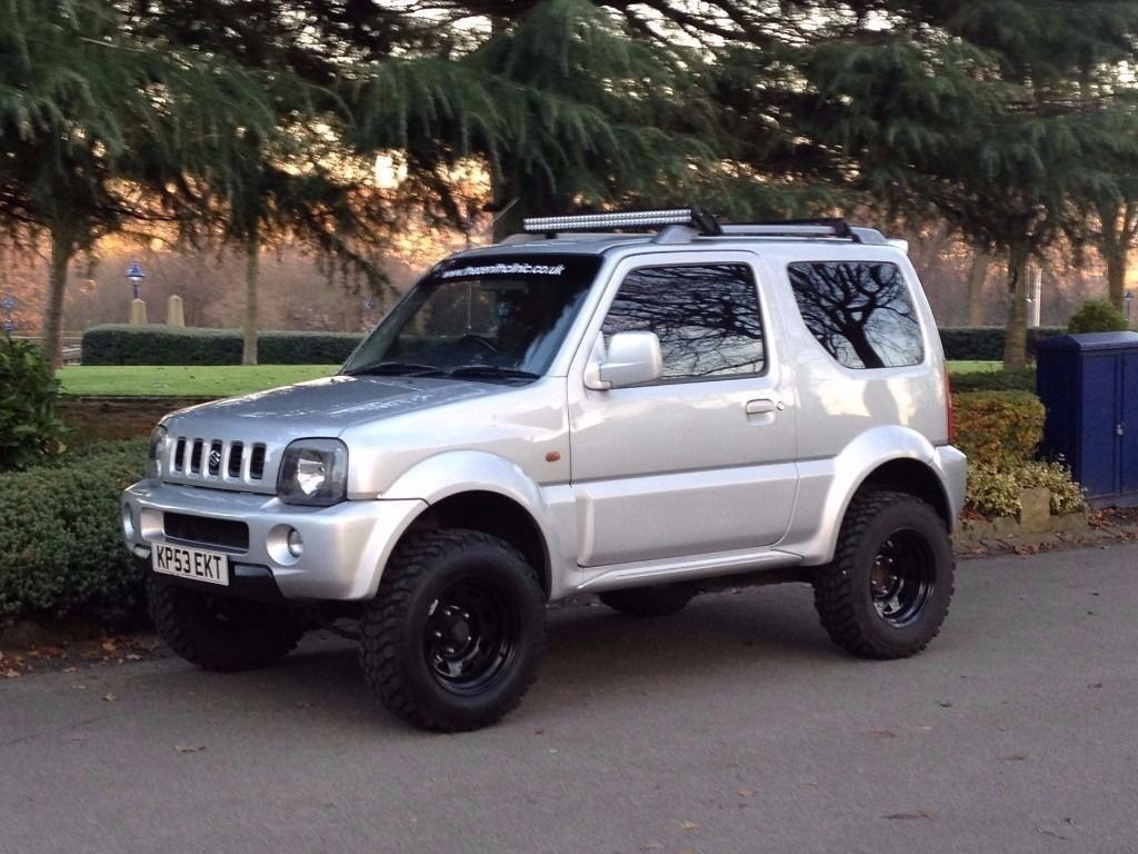 suzuki jimny 4x4 offroader full service history over 1300 spent on upgrades in bradford west. Black Bedroom Furniture Sets. Home Design Ideas