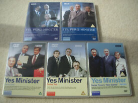 Yes, Minister and Yes, Prime Minister - box set