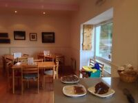Charming village Tea Room in Dumfries countryside available for lease - Minimum 6 months