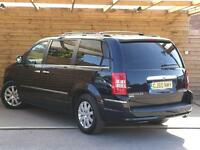 Chrysler Grand Voyager 2.8 CRD Limited 5dr Auto FULL LEATHER/SAT NAV (midnight blue metallic) 2010