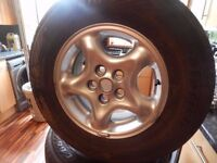 Alloy Wheels new tyres large set of studs 5x120