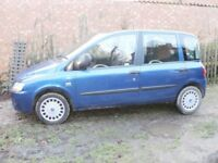 Fiat Multipla Eleganzia 1.9jtd 6 seater diesel 2005 MOT to July. Some attention needed