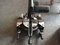 Evolution sliding mitre saw/chopsaw, good condition, perfect working order.