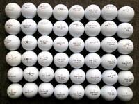 48 Topflite golf balls very good condition, XL3000/2000, Balata, Titanium,