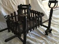 Dog grate. Hand made by Blacksmith