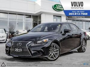 2015 Lexus IS 350 4dr Sdn AWD LOADED W/ EXEC PACK