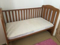 cot bed , very good condition