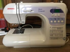 Janome Sewing Machine DC3050 RRP £349 Computerised in excellent condition, hardly used